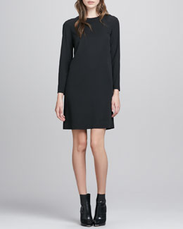 Theory Landain Slit-Back Dress