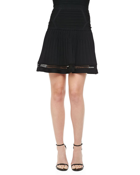 Drop-Waist Bandage Skirt