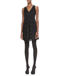 Nanette Lepore Emotions Sleeveless Lace Dress