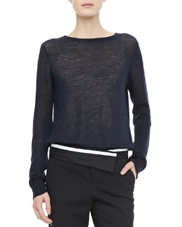 A.L.C. Andy Open-Back Sweater