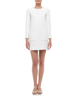 MARC by Marc Jacobs Cleo Quilted Knit Dress