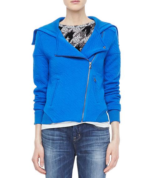Cleo Textured Zip Jacket