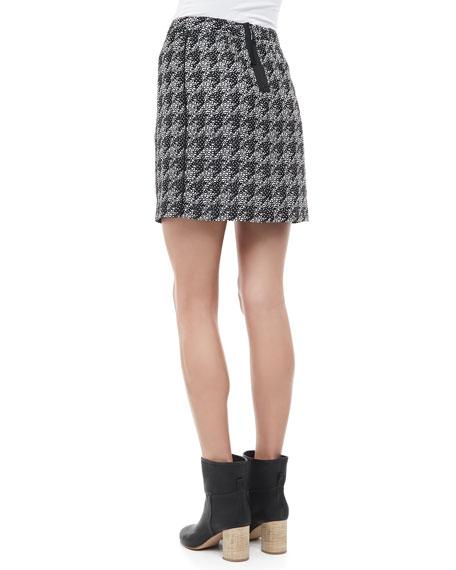 Terence Jacquard Pencil Skirt