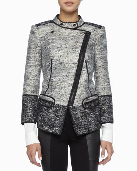 Davenport Asymmetric Tweed Jacket