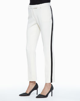 Rachel Zoe Vienna Side-Stripe Pants