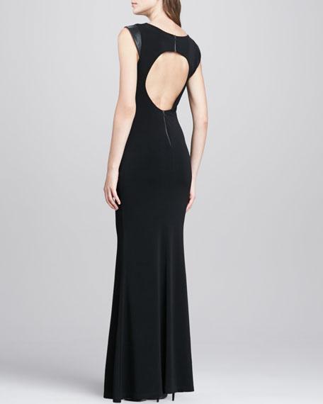 Open-Back Maxi Dress