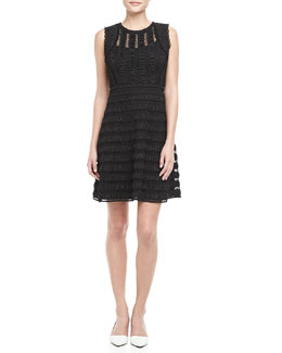 Diane von Furstenberg Dolly Sleeveless Lace Overlay Dress