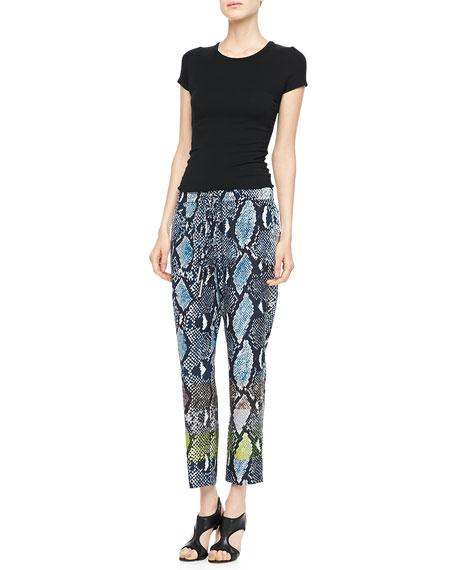 Benett Two Animal-Print Pants