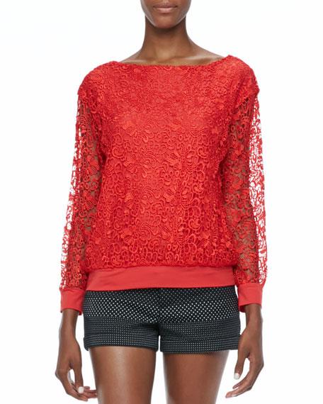 Brody Lace Sweatshirt