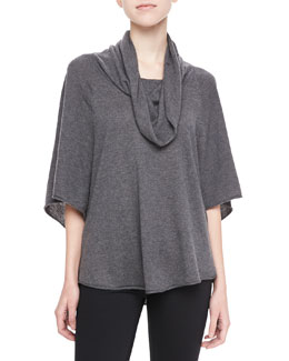 Joie Celia Cowl-Neck Sweater, Gray