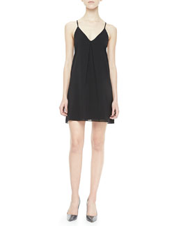 Alice + Olivia Fierra Racerback Slip Dress