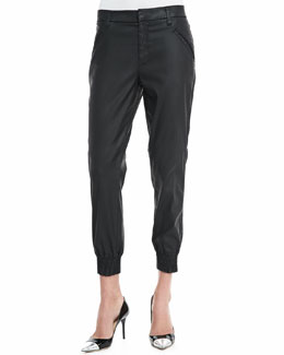 7 For All Mankind Coated Twill Jogging Pants