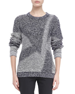 Theyskens' Theory Yilfy Kari Crewneck Sweater