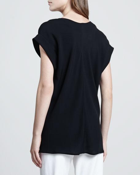 Gyda Short-Sleeve Blouse