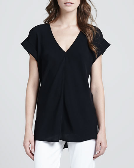 Gyda Short-Sleeve Blouse