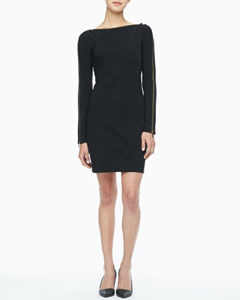 Pearson Zip-Sleeve Dress