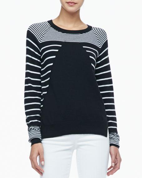 Grayson Striped Knit Sweater
