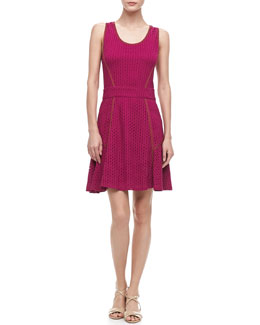 MARC by Marc Jacobs Emi Eyelet Swingy Dress