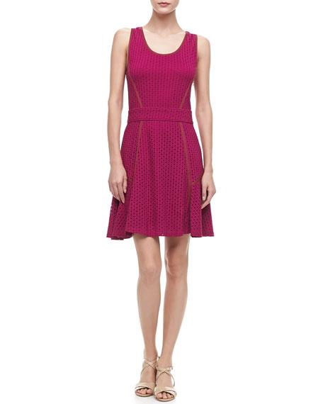 Emi Eyelet Swingy Dress