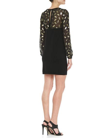 Alagna Long Sleeve Knit Dress