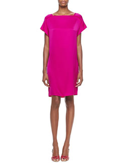 Elie Tahari Olivia Silky Shift Dress