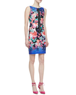 Nanette Lepore Venice Beach Floral-Print Dress