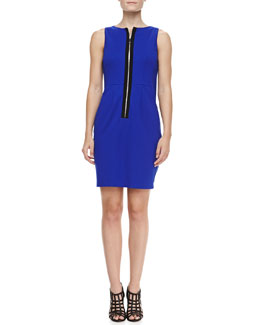 Nanette Lepore Sandbar Front-Zip Dress