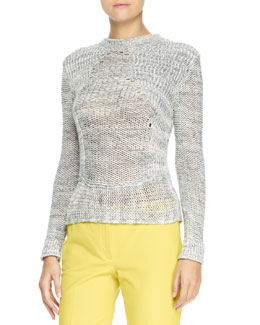 Joseph Long-Sleeve Yarn Sweater