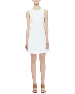 Theory Nikay Relaxed Twill Dress