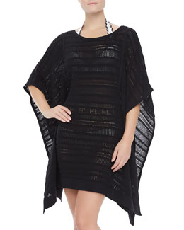 Herve Leger See-Through Loose Coverup