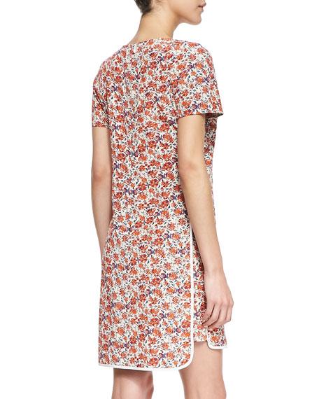 Sweet William Floral-Print Dress
