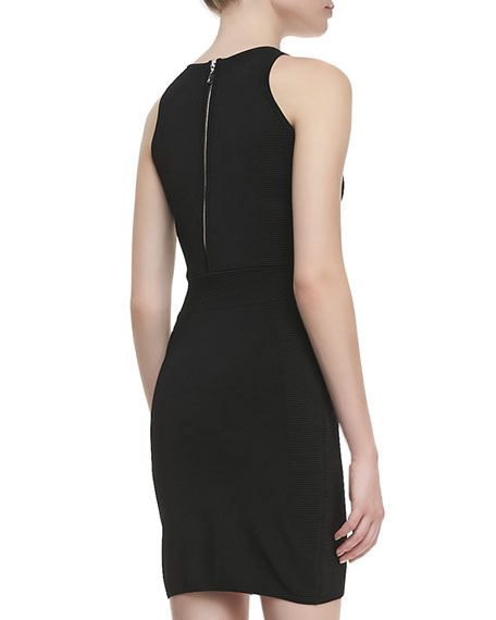 Colorblock Ponte Sheath Dress