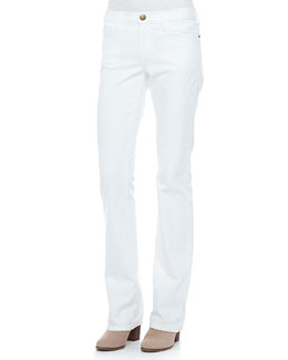 Current/Elliott The Slim Boot-Cut Jeans, Sugar