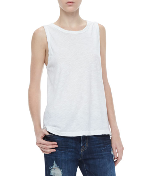 Current/Elliott The Muscle Tee, Sugar