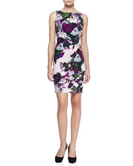 Nanette Lepore Forbidden Love Floral-Print Dress
