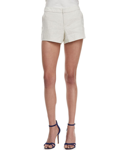 Merci Relaxed Linen Shorts
