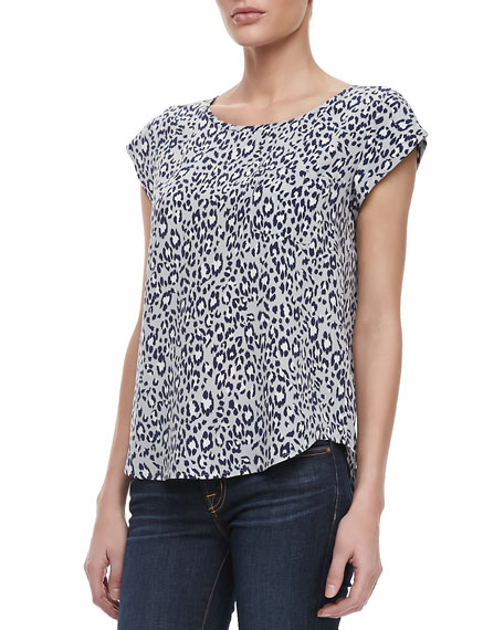 Rancher Animal-Print Blouse
