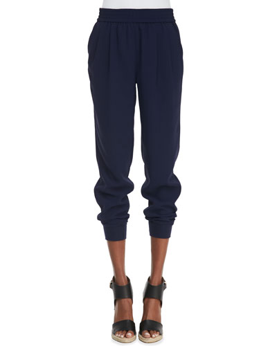 Mariner Pull-On Pants, Dark Navy