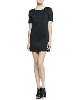 J Brand Ready to Wear Cabot Scuba Shift Dress
