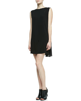 J Brand Ready to Wear Clare Drape-Back Dress