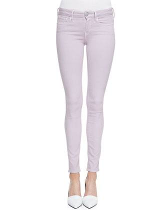 Riley Lightweight Legging Jeans, Wisteria