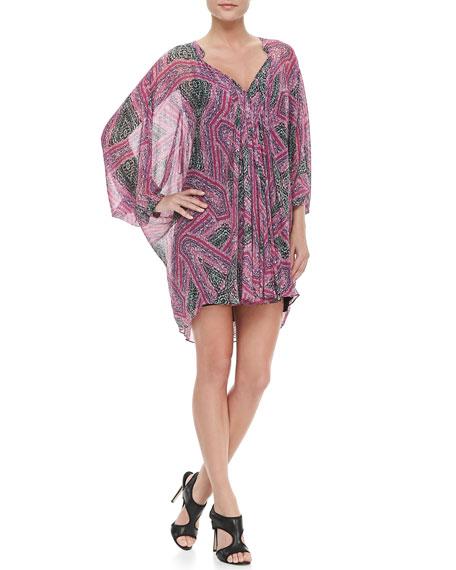 Fleurette Silk Chiffon Dress