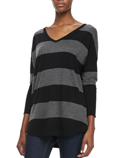 Joie Chyanne Wide-Striped Sweater