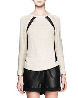 Helmut Lang Guyton Space-Dye Knit Sweater