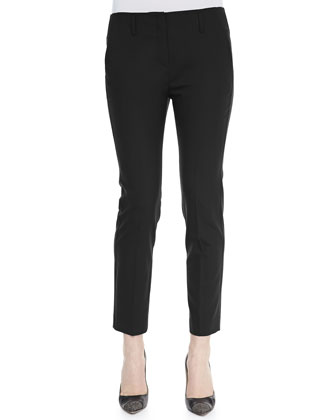 Bedina Suiting Skinny-Leg Pants