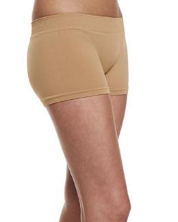 Microfiber Boyshort Underwear, Tan
