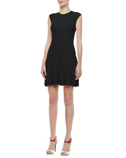 Alice + Olivia Cecilia Sleeveless Knit Dress