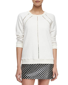 MARC by Marc Jacobs Demi Jacquard Crewneck Sweatshirt