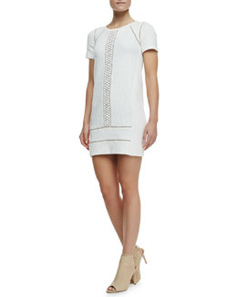 MARC by Marc Jacobs Demi Crochet/Jacquard Dress
