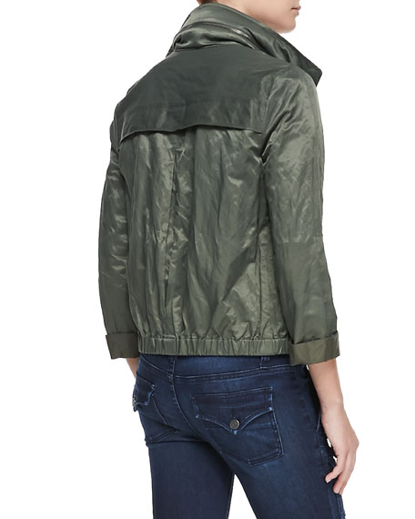Ferrell Shiny Army Jacket